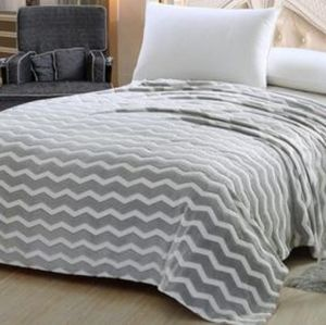 NOBLE HOUSE PRINTED LIGHTWEIGHT MICROPLUSH BLANKET